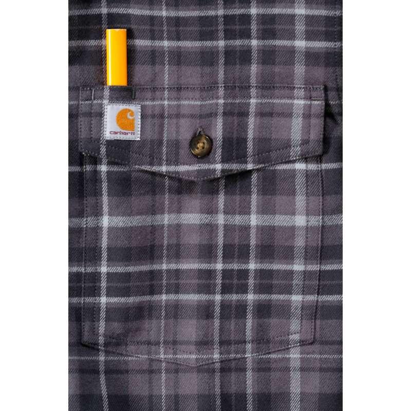 Marškiniai flaneliniai ilgomis rankovėmis Trumbull slim fit CARHARTT