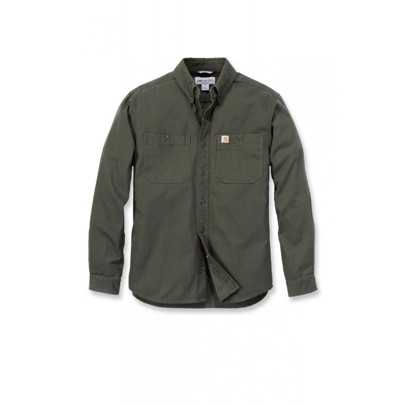 Susagstomi marškiniai ilgomis rankovėmis RIGBY