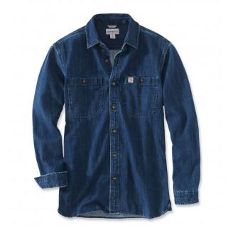 Džinsiniai Marškiniai ilgomis rankovėmis