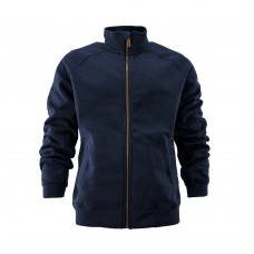Džemperis užsegamas užtrauktuku Midweight Mock CARHARTT NAVY BLUE